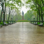 Kyiv park with Latin flavor